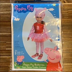NWT Peppa Pig Toddler Costume